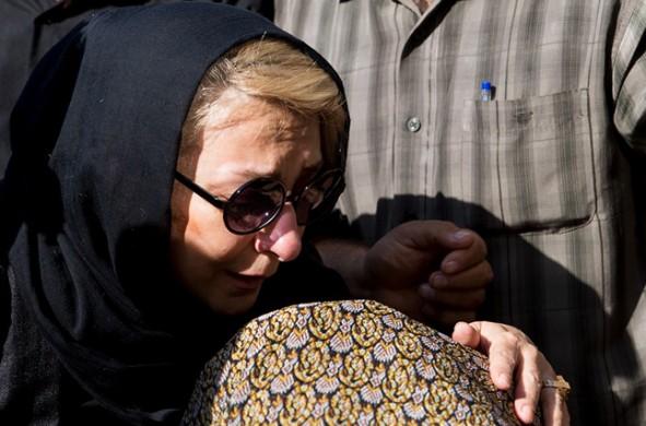 (تصاویر) مراسم تشییع نادر گلچین