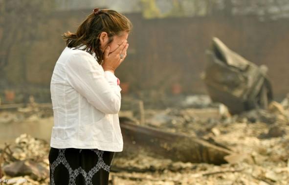 (تصاویر) کالیفرنیا پس از آتشسوزی