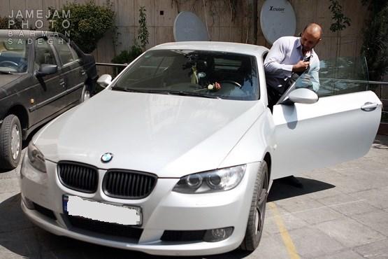 مدافع حرم BMW سوار!