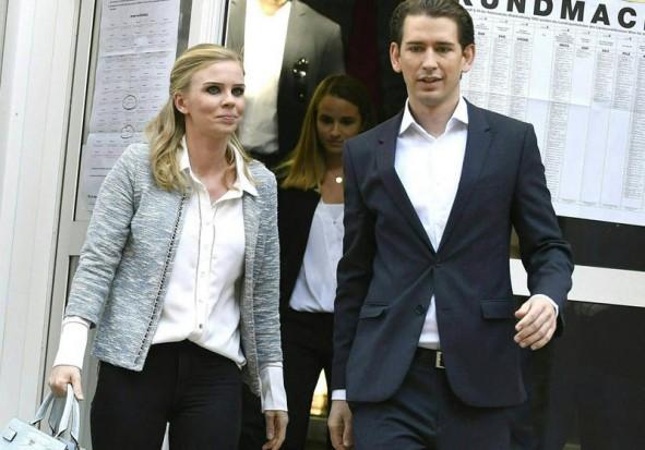 (تصاویر) ظهور صدراعظم 31 ساله در اتریش