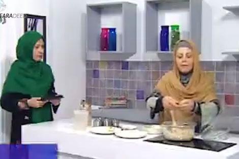 اتفاق عجیب در برنامه زنده آشپزی!