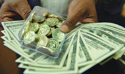 افت و خیز امروز قیمت ارز و سکه در بازار