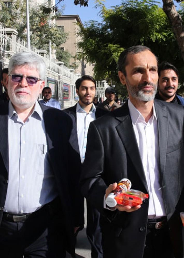(تصاویر) حواشی دادگاه بقایی