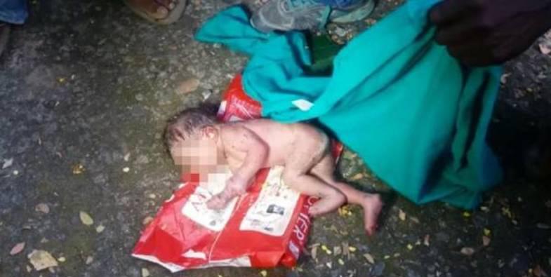 (تصاویر) مورچهها نوزاد دختر را زنده زنده خوردند