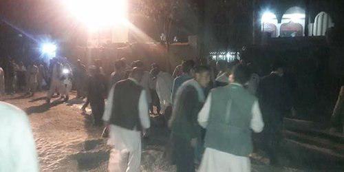انفجار انتحاری در مسجد امام زمان کابل ,