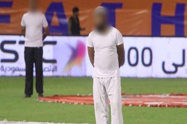 لباسی عجیب در لیگ عربستان