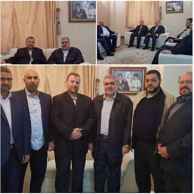 سفر هیأت بلندپایه حماس به تهران