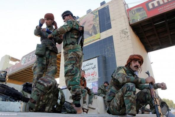 (تصاویر) کرکوک در تصرف کامل نیروهای عراقی