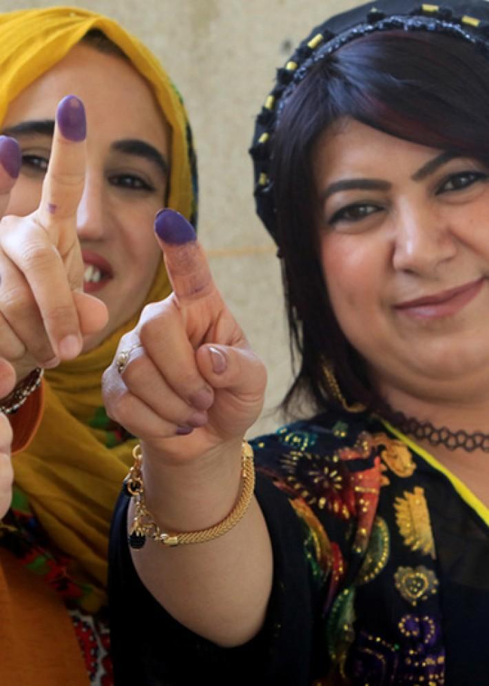 (تصاویر) آغاز همهپرسی استقلال کردستان عراق