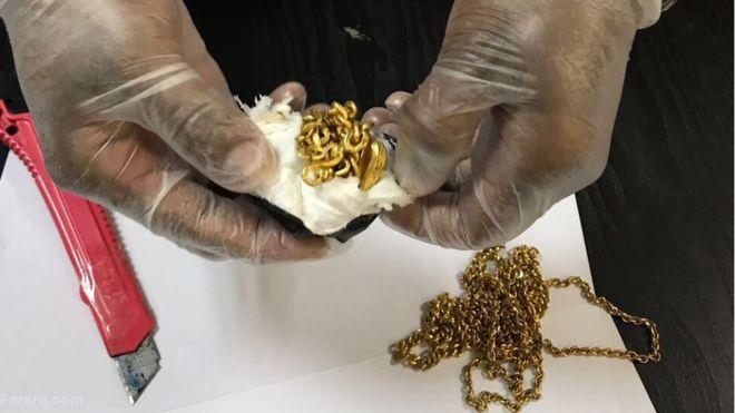 دستگیری مردی با یک کیلو طلا در مقعدش!