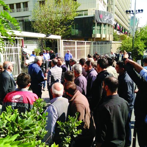 تجمعی که خیابان طالقانی را به هم ریخت