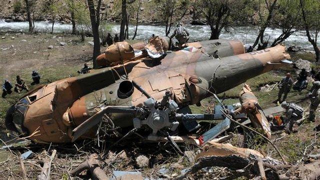 اطلاعیه ارتش درباره سقوط بالگرد هوانیروز