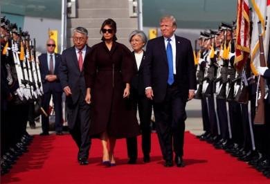 (تصاویر) ترامپ در کرهجنوبی