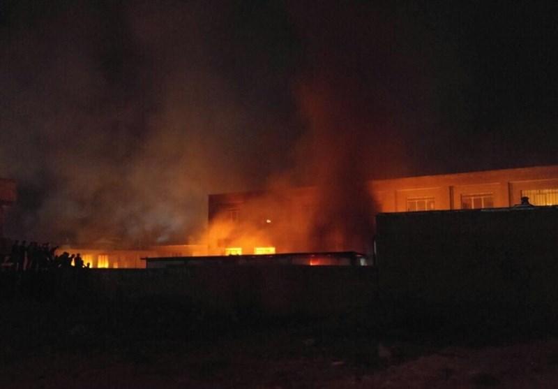 مدرسه جنجالی ارومیه به آتش کشیده شد