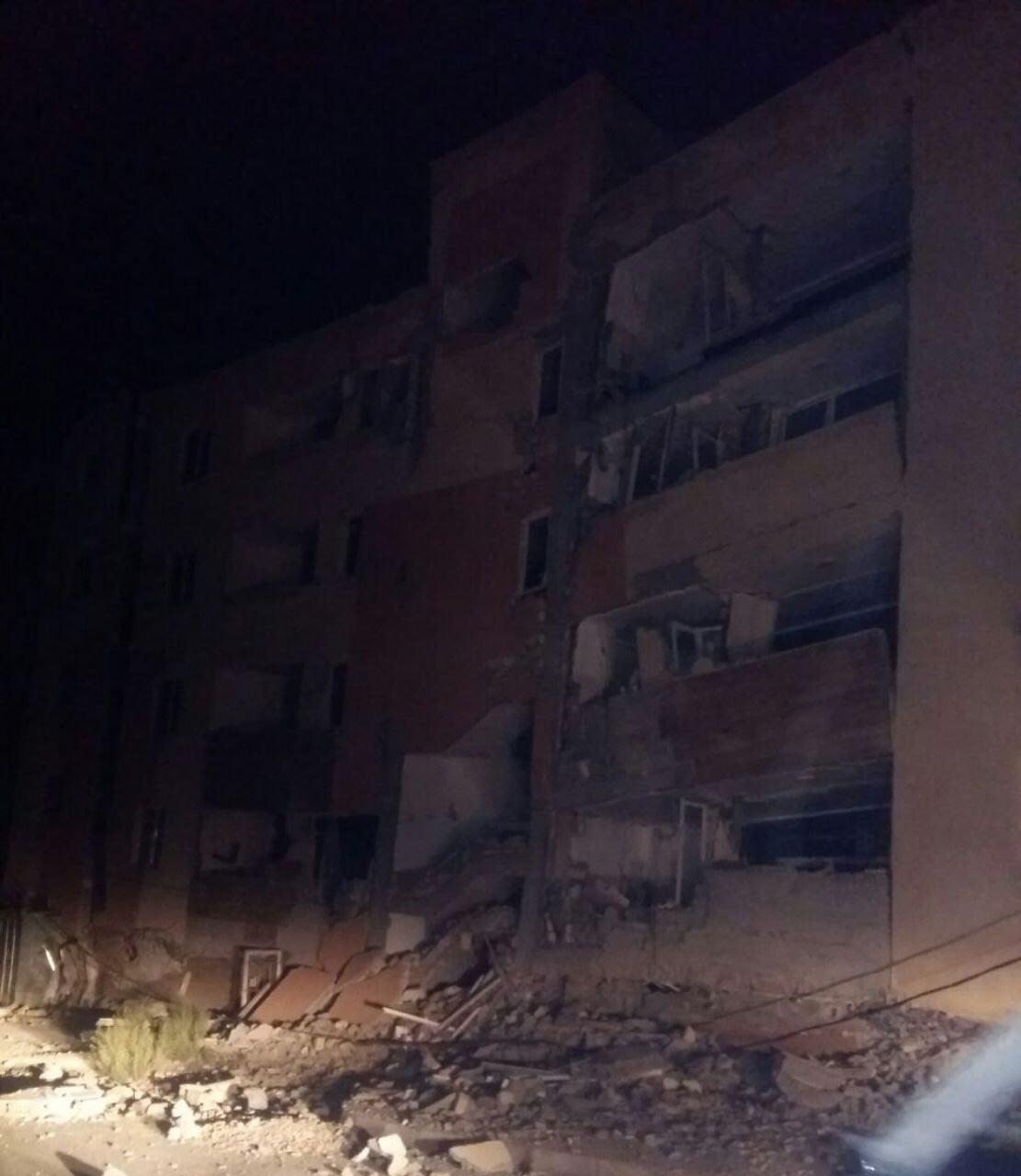 (تصویر) بلایی که زلزله بر سر مسکن مهر آورد