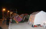 (تصاویر) اسکان مردم قصرشیرین در چادر