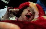 """(تصاویر) تولد"""" آوا """"پس از زلزله در سرپل ذهاب"""