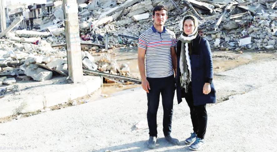 داستان یک معجزه زیر آوارهای زلزله