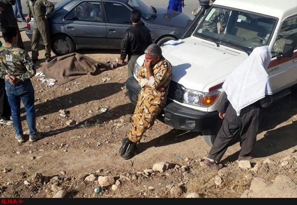 (تصویر) درگذشت یکی از نیروهای هوانیروز هنگام امدادرسانی