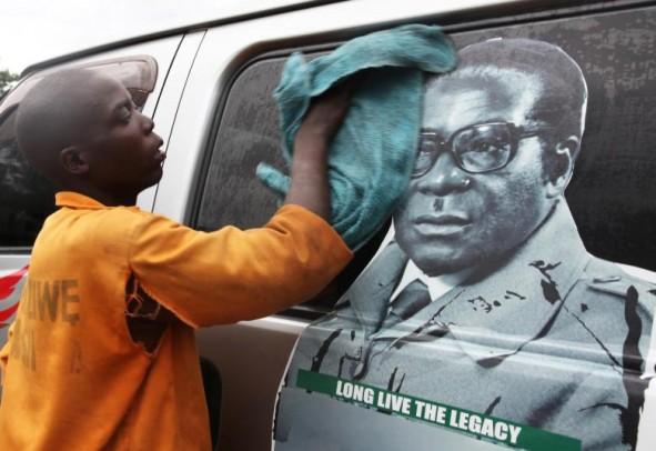 (تصاویر) کودتا در زیمبابوه