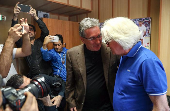 (تصاویر) دیدار شفر و برانکو پیش از دربی