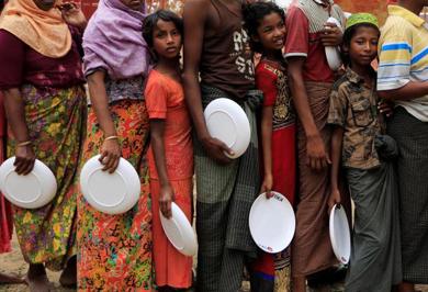 (تصاویر) در اردوگاه پناهندگان میانمار چه میگذرد؟