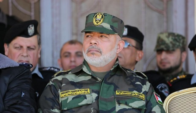 ترور فرمانده نیروهای امنیتی غزه