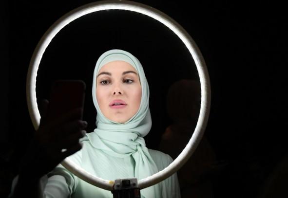 (تصاویر) نمایش مد اسلامی در مسکو