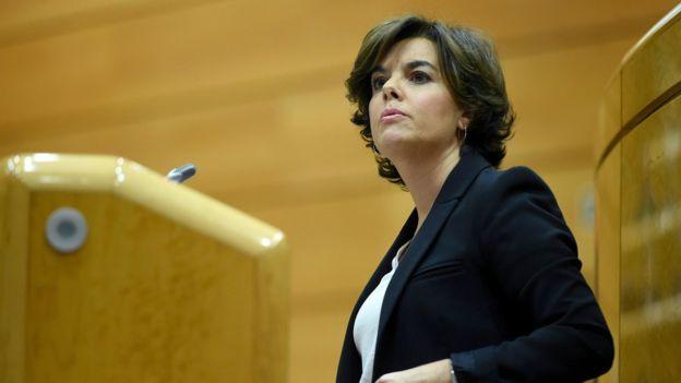 دولت اسپانیا اداره کاتالونیا را به دست گرفت