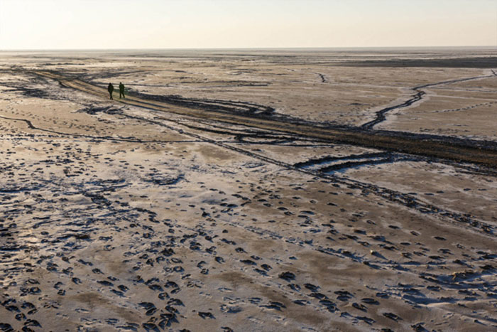 دریاچه ارومیه یک قدم تا مرگ