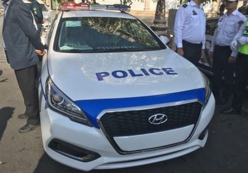 (تصاویر) جدیدترین خودروی پلیس در تهران