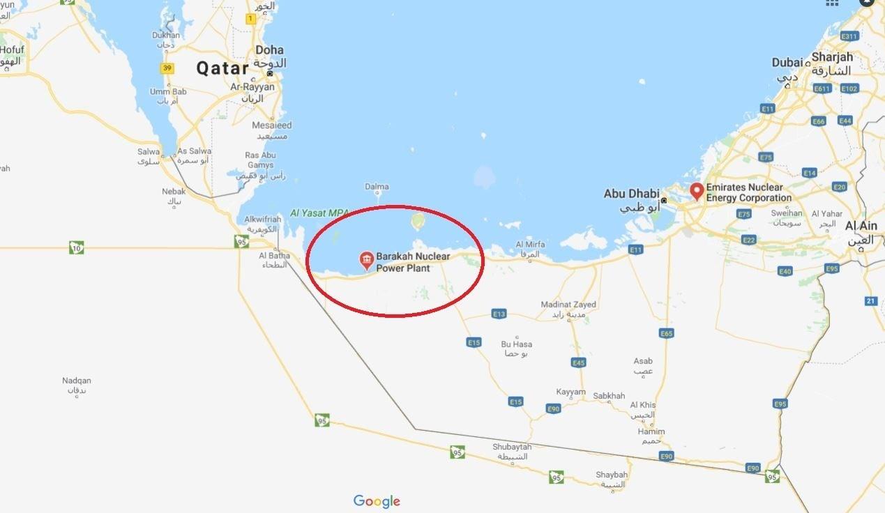 شلیک موشک کروز ارتش یمن بهسوی نیروگاههای اتمی ابوظبی