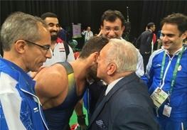 حرکت عجیب تاماش آیان با قهرمان ایران!