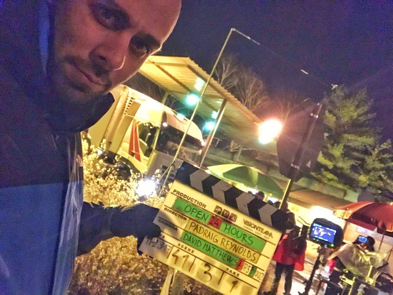 (تصاویر) بدلکار ایرانی خود را برای فیلم هالیوودی آتش زد