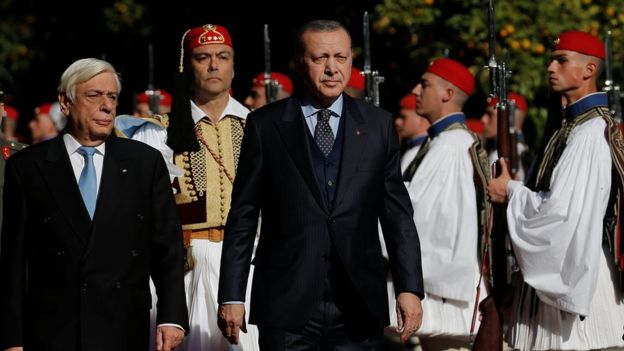 سفر تاریخی اردوغان به یونان
