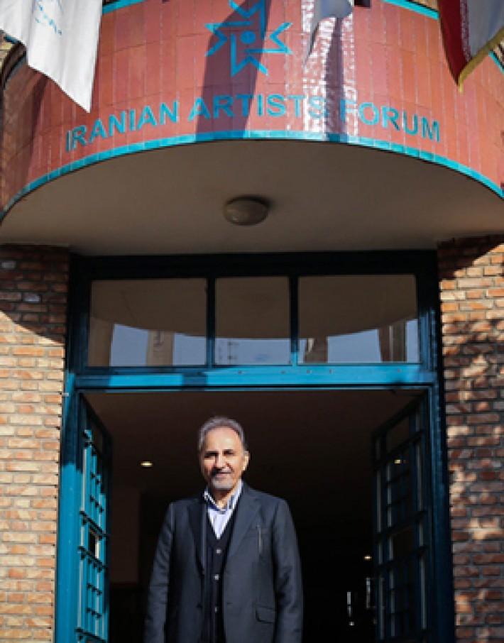 (تصاویر)بازدید شهردار تهران از خانه هنرمندان