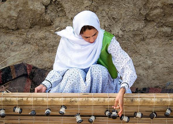 (تصاویر) حصیربافی در سیستان و بلوچستان