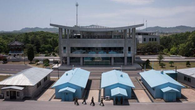 (تصاویر) فرار پرماجرای سرباز کرهشمالی به کرهجنوبی