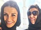 (تصویر) همسران بازیکنان رئال مادرید، با حجاب در امارات
