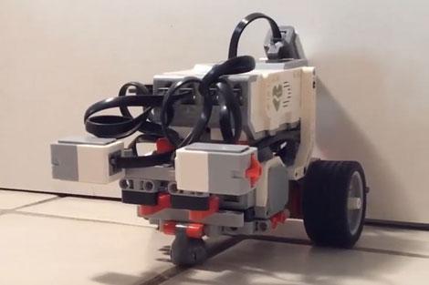 یک کرم، رباتی پیشرفته را هدایت میکند!