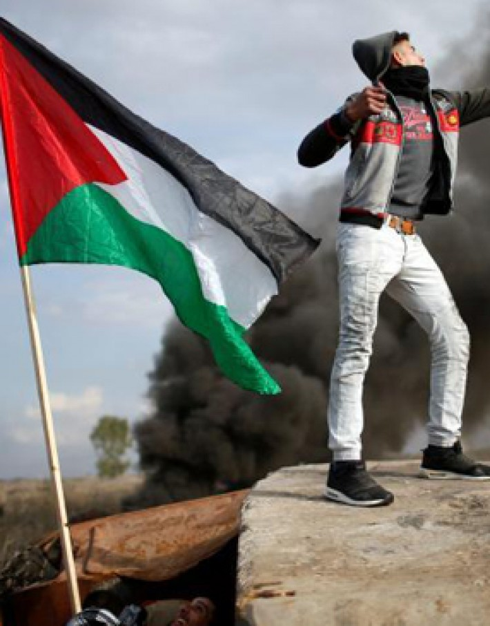 (تصاویر) درگیری خشونتآمیز صهیونیستها با فلسطینیها