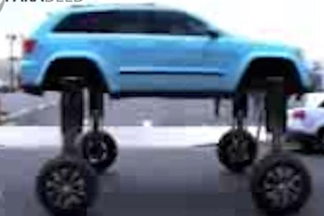 خودرویی برای فرار از ترافیک