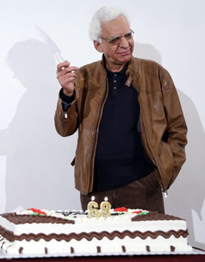 (تصاویر) جشن ۶۸ سالگی کیومرث پوراحمد