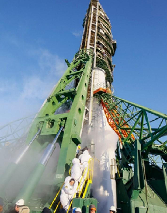 (تصاویر) پرتاب موفق موشک رباتیک سایوز
