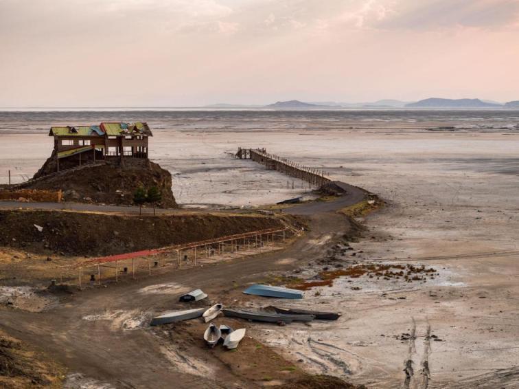 (تصاویر) گزارش نشنال جئوگرافیک درباره دریاچه ارومیه