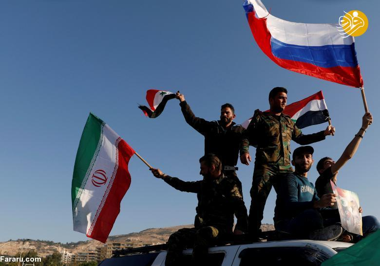(تصاویر) تصاویری از حمله آمریکا و متحدانش به سوریه