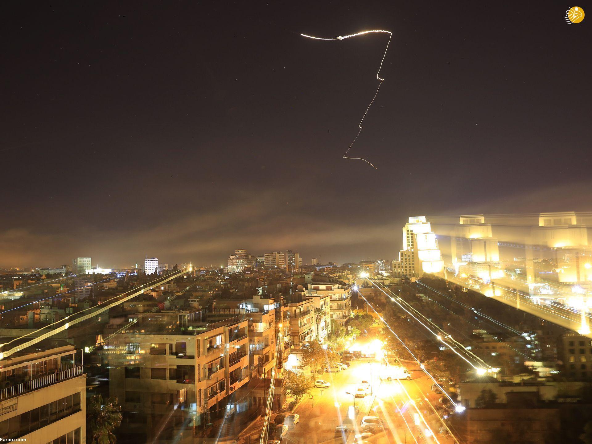 (تصاویر) مردم سوریه پس از حمله نظامی آمریکا