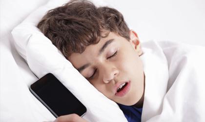 دستگاههای دیجیتال عامل اختلال خواب
