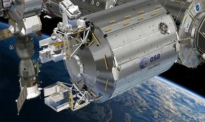 رصد رعد و برق از ایستگاه فضایی
