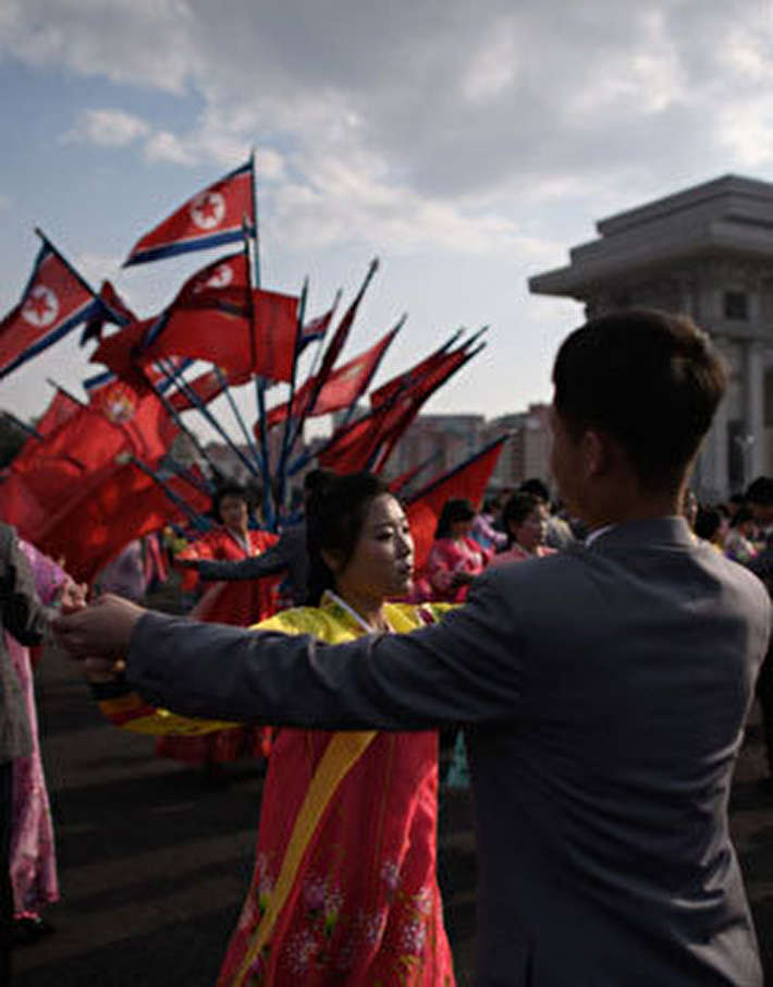 (تصاویر) بزرگداشت سالروز تولد بنیانگذار کرهشمالی